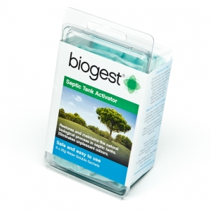 Septic Tank Activator Biogest available on line www.pongaway.co.nz